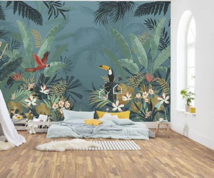 Jungle Decor Premium wallpaper mural